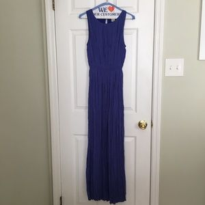 Banana Republic Crinkled Maxi Dress